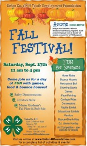 Cover photo for Union County 4-H Host Annual Fall Festival