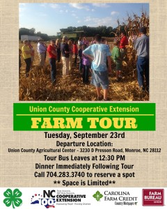 Cover photo for Free Agricultural Tour of Union Co. Farms Date Set