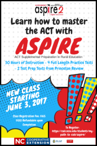 Cover photo for Learn How to Master the ACT With ASPIRE!