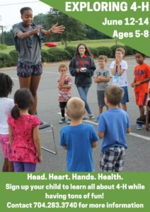 Cover photo for Exploring 4-H - SUMMER CAMP!