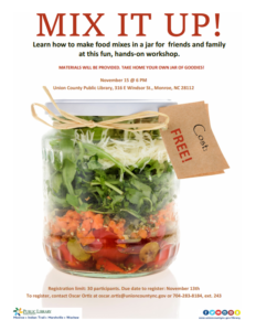 Cover photo for Food in a Jar Workshop @ Monroe Library