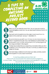Cover photo for Five Tips to Completing an Awesome Project Record Book