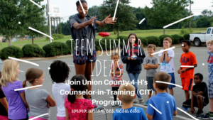 Cover photo for Teen Summer Ideas: 2018 Counselor-in-Training (CIT) Program Is Here