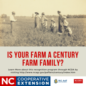 Cover photo for Union County Seeking Local Century Farm Families