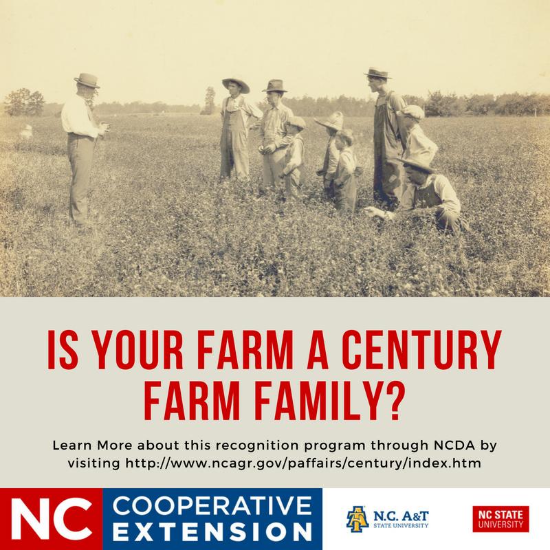 Is Your Farm a Century Farm Family flyer image
