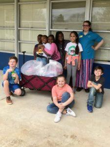 Marshville Elementary School Donates