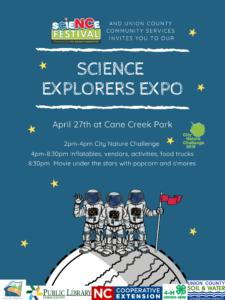 Science Explorers Expo Flyer