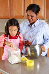 Cover photo for Cooking Together as a Family