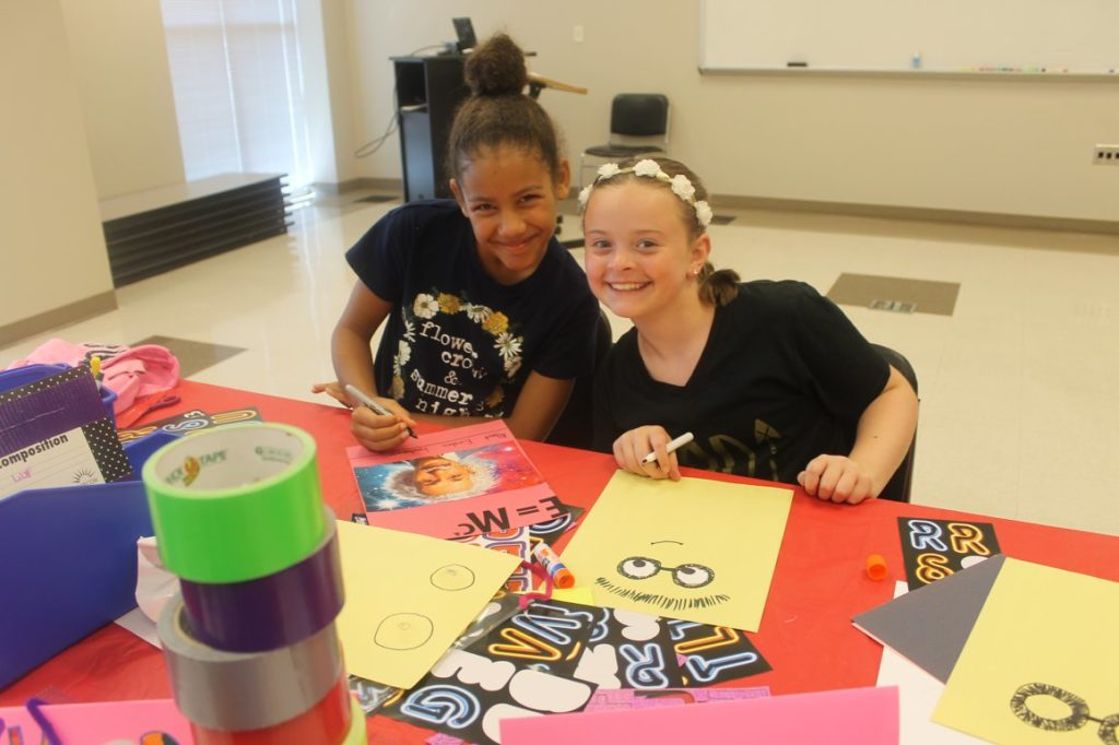 Let's Get Creative 4-H Camp
