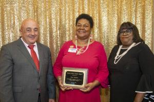 Cheri Bennett wins the Miller Brown Award