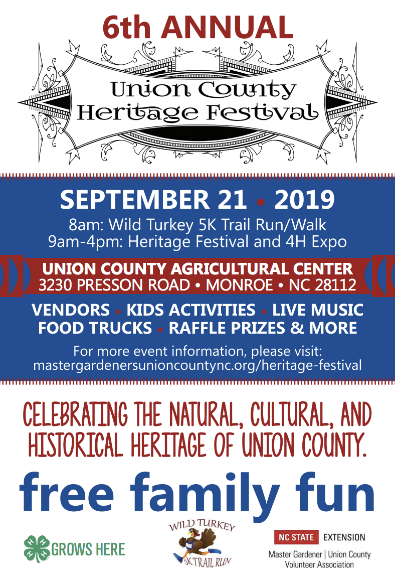 Flyer 6th Annual Heritage Festival