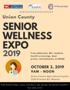 Senior Wellness Expo 2019 Flyer