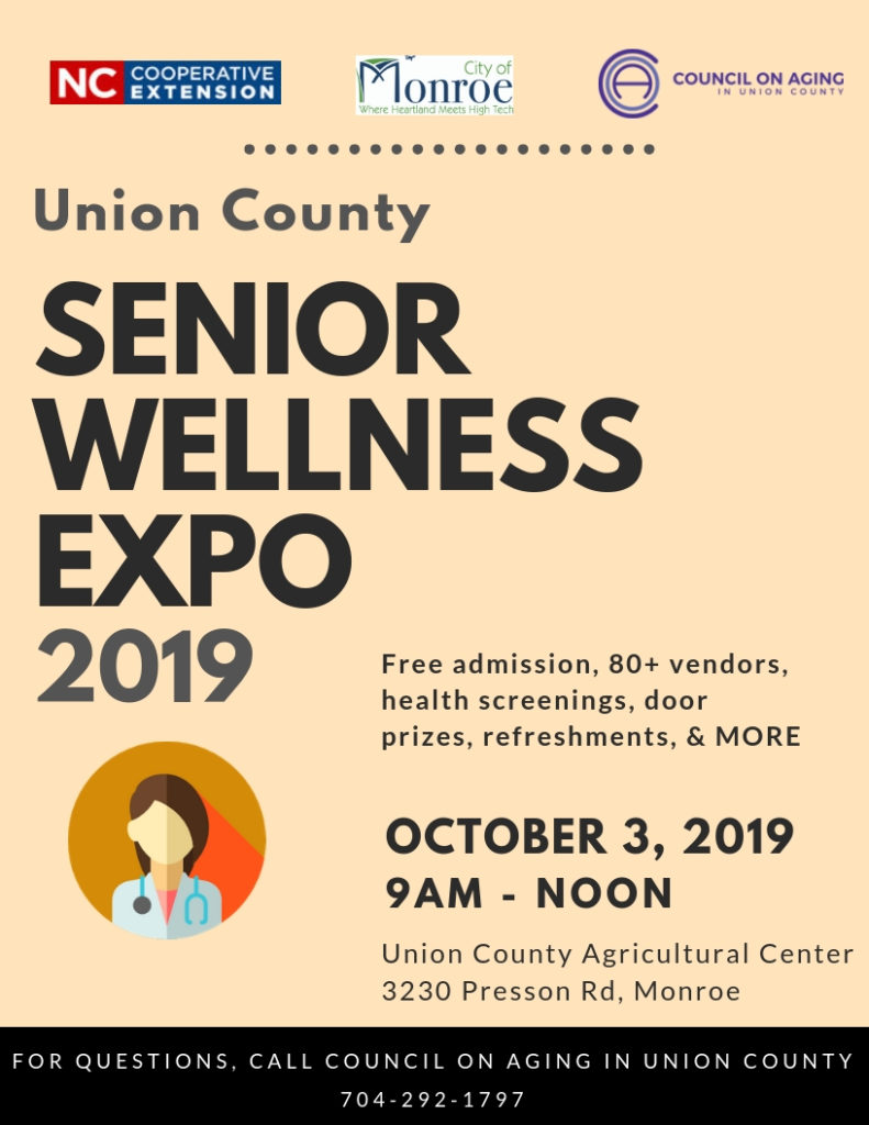 Senior Wellness Expo 2019 Flyer