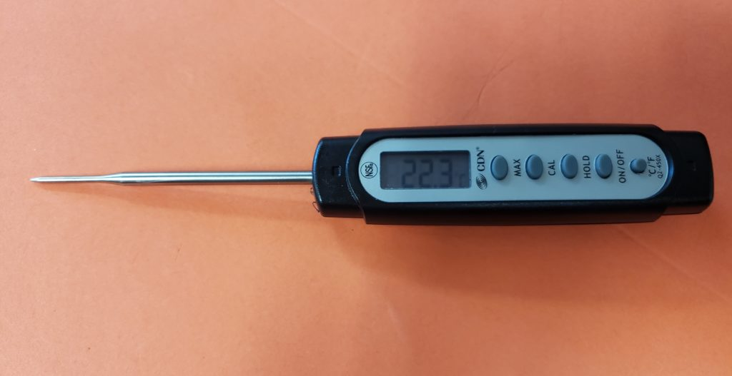 digital food safety thermometer