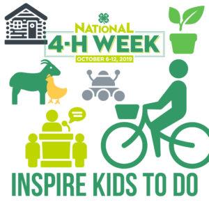 National 4H Week 2019 logo