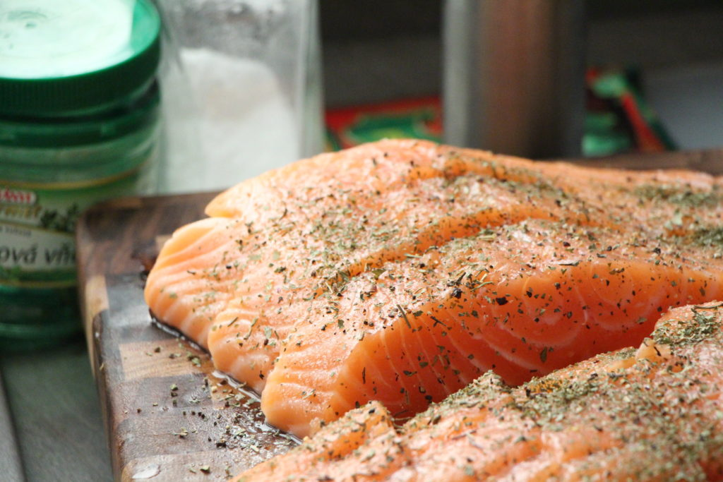 Salmon for Cooking