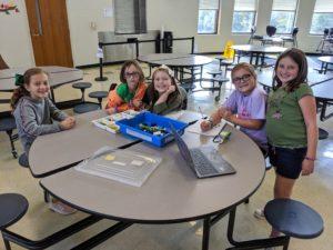 4-H Robotics club kids