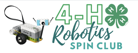4h robotics spin club graphic