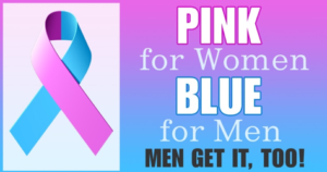 Male Breast Cancer Awareness Logo