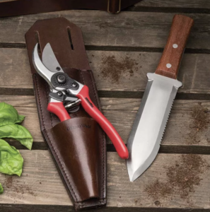 Pruning Sheers and knife
