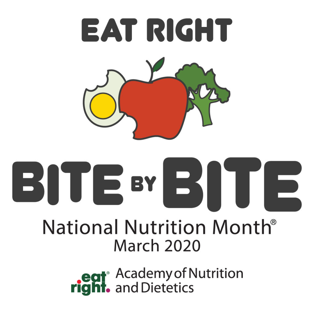 National Nutrition Month 2020 Logo