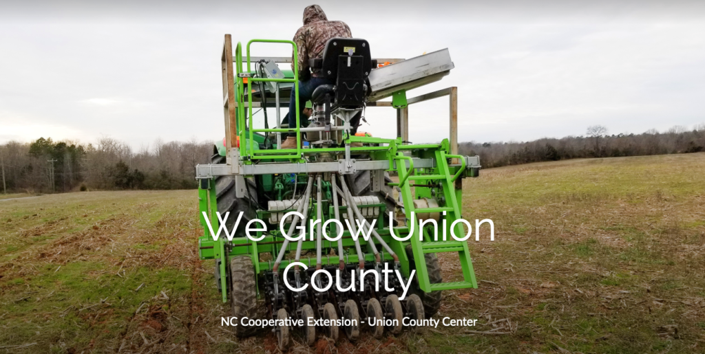 We Grow Union County Newsletter 2020 Cover