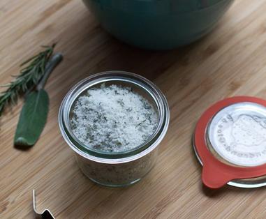 jar of culinary salt