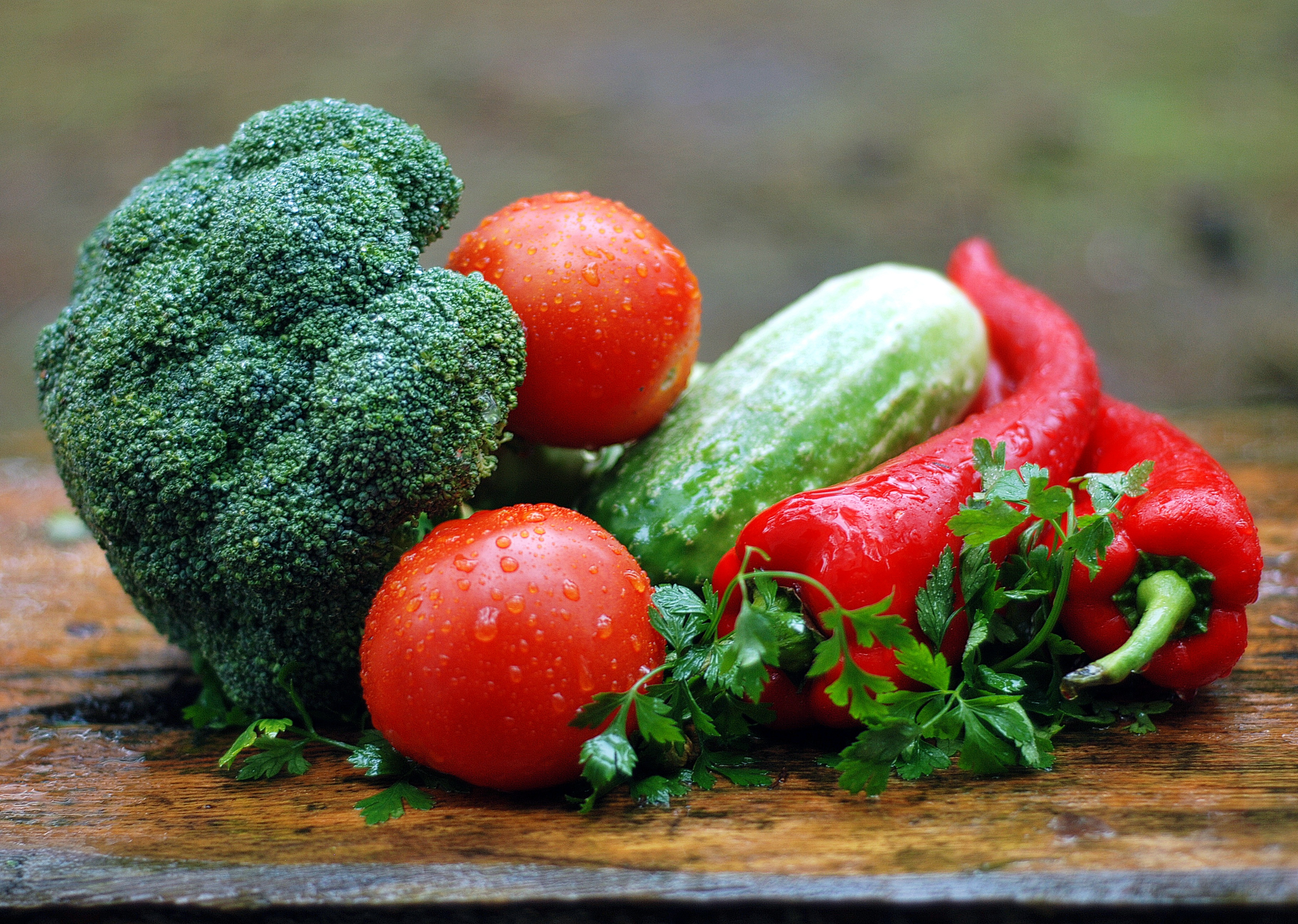 Various Vegetable on a table