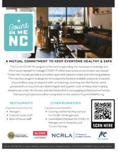 Cover photo for Keep NC Safe, Check out Count On Me NC!