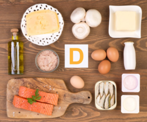 food items that contain vitamin d
