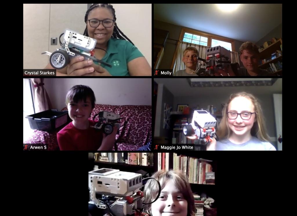 Virtual Summer Fun Robotics Week Group Photo