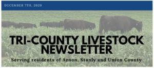 Cover photo for Livestock Newsletter