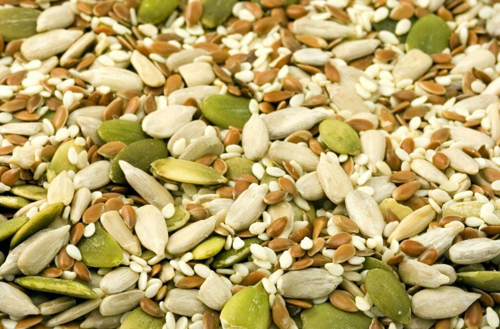Various Seeds Spread