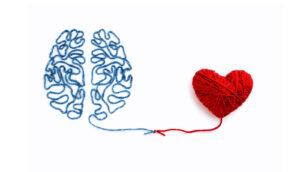 Brain and Heart Connected via thread