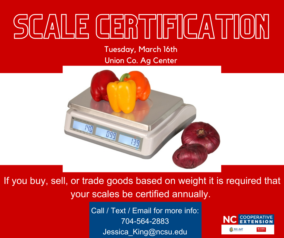 Click for Scale Certification Info