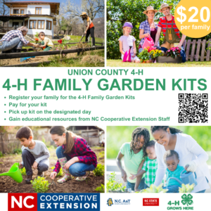 Cover photo for Get Your Family Outside With 4-H Family Gardening Kit