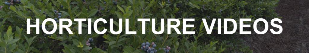 Horticulture Videos