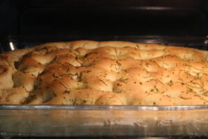 Focaccia Rosemary Bread