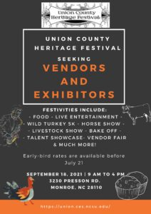 Union County Heritage Festival