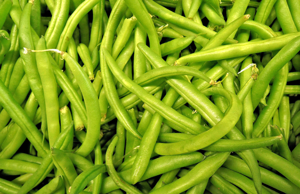 Green Beans in a Pile